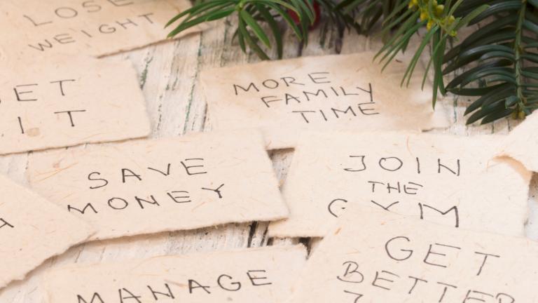 7 Tipps, damit die Neujahrsvorsätze sich nicht in Luft auflösen
