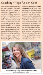 Coaching Yoga Kiel